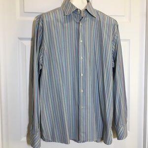 Perry Ellis Long Sleeve Dress Shirt XL